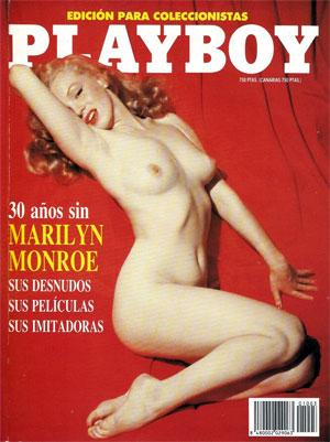 Marilyn Monroe Playboy left