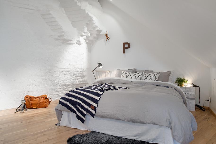 Спальня в скандинавском стиле1