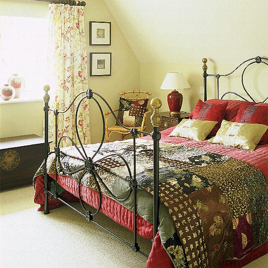 Спальня в стиле кантри1