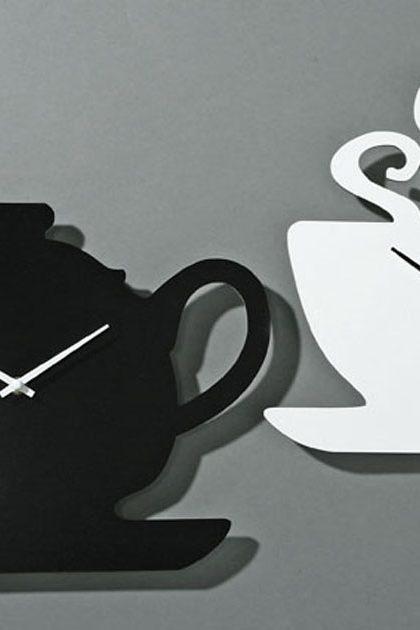Часы «Чашка» 30х30 см и «Чайник» 36х30 см (1 шт)
