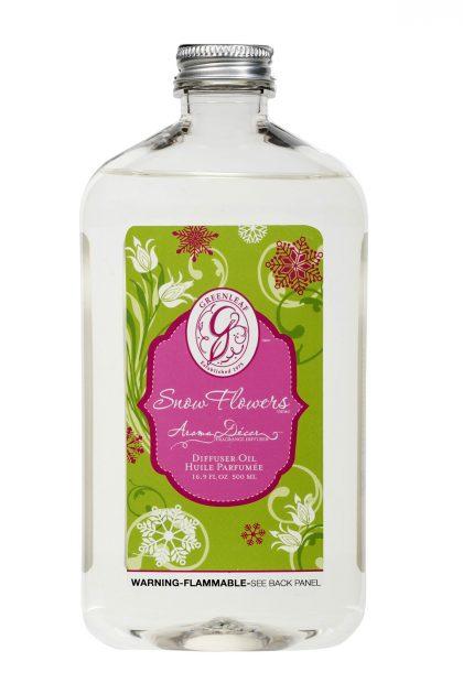 Масло для арома-декор коптилок Подснежники Snow Flowers