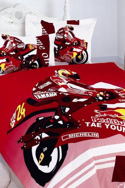 Комплект постельного белья Motor Bike Red