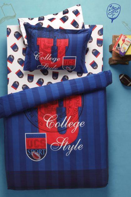 Постельное белье подростковое COLLEGE BLUE