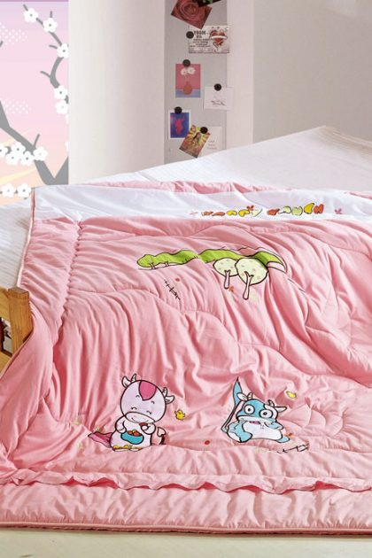 Одеяло детское-подростковое бамбуковое Cow