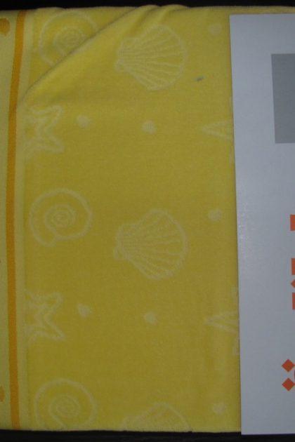 Простынь махровая Shell Sari