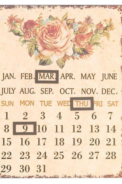 Календарь Роза, 60955, 25х33 см