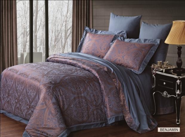 Комплект постельного белья бамбук-жаккард Benjamin