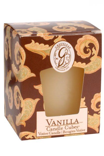 Свеча-кубик Ваниль Vanilla