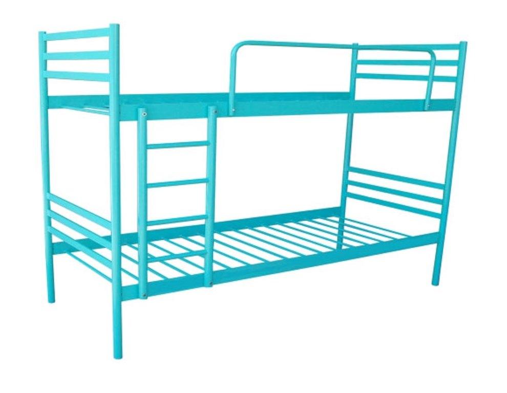 Двухъярусная кровать из металлического профиля своими руками 73