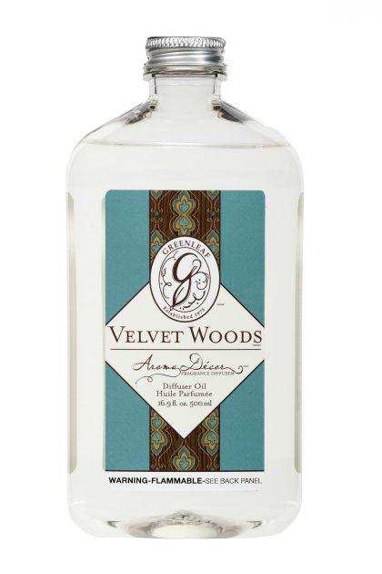 Масло для арома-декор коптилок Бархатное Дерево Velvet Woods