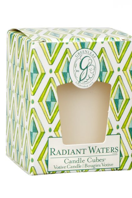 Свеча-кубик Родниковый Источник Radiant Waters