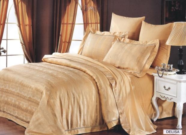 Комплект постельного белья бамбук-жаккард Delisa