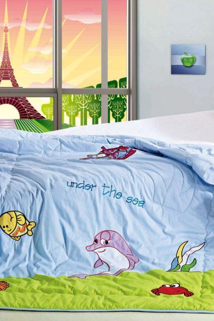 Одеяло детское-подростковое бамбуковое Oceans