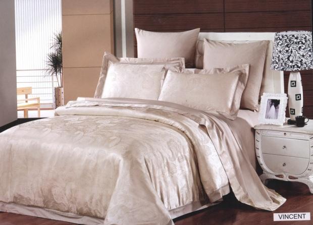 Комплект постельного белья бамбук-жаккард Vincent