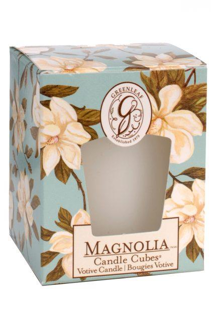 Свеча-кубик Магнолия Magnolia