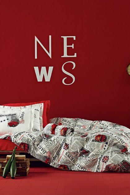 Постельное белье ранфорс City NEWS