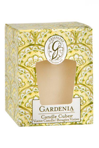 Свеча-кубик Гардения Gardenia