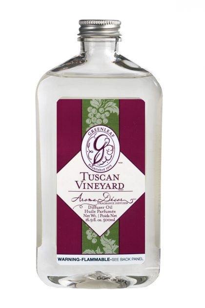 Масло для арома-декор коптилок Виноградники Тосканы Tuscan Vineyard