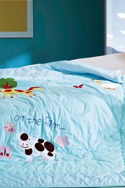 Одеяло детское-подростковое бамбуковое Farm