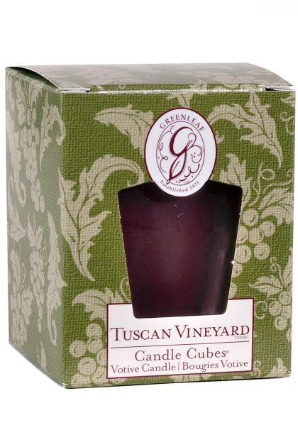 Свеча-кубик Виноградники Тосканы Tuscan Vineyard