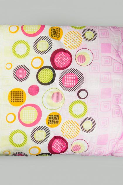 Цветное одеяло гипоаллергенное стеганное (двойной силикон)