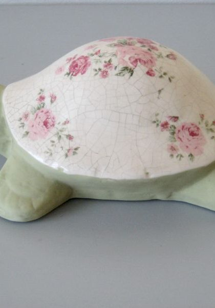 """Керамическое изделие """"Черепаха"""", E9P16155R, 26х18 см."""