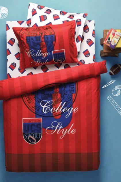 Постельное белье подростковое COLLEGE RED