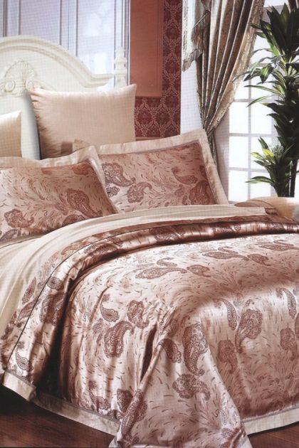 Комплект постельного белья бамбук-жаккард Karen