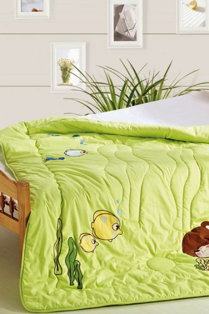 Одеяло детское-подростковое бамбуковое Sea